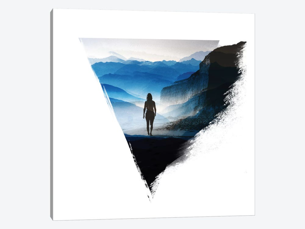 Darker Than Blue by Stoian Hitrov 1-piece Canvas Print