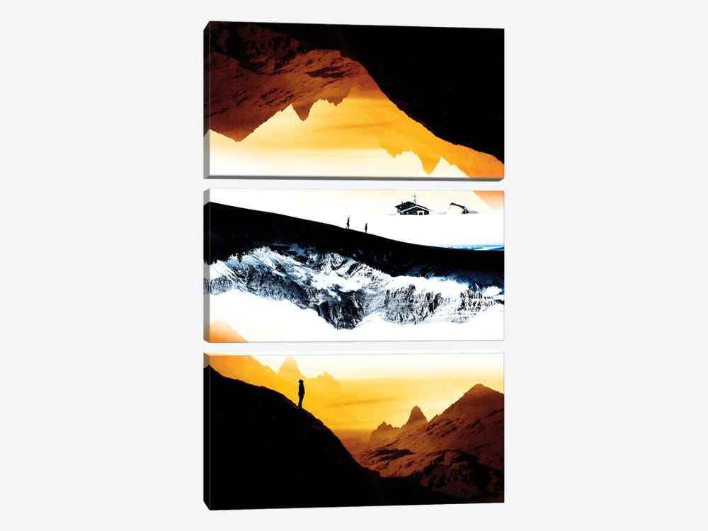 Hiking For What by Stoian Hitrov 3-piece Canvas Artwork