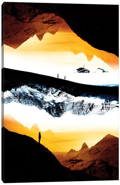 Hiking For What Canvas Art Print