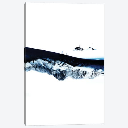 Hiking For Winter Canvas Print #STO63} by Stoian Hitrov Canvas Wall Art