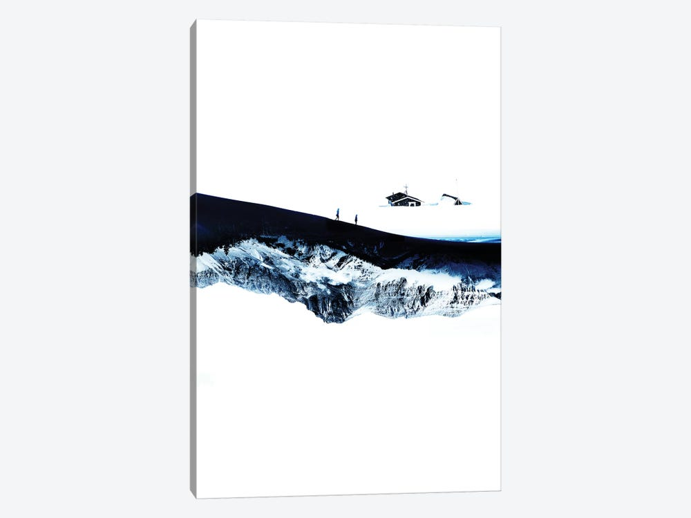 Hiking For Winter by Stoian Hitrov 1-piece Canvas Print