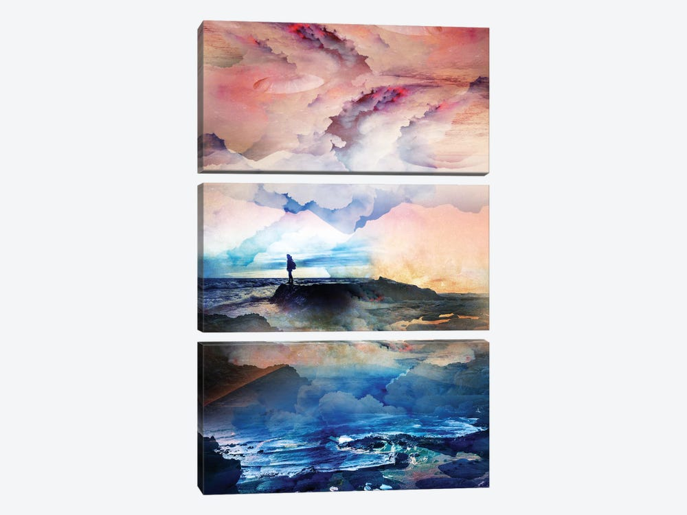 I Dream Deep On A Level by Stoian Hitrov 3-piece Canvas Artwork