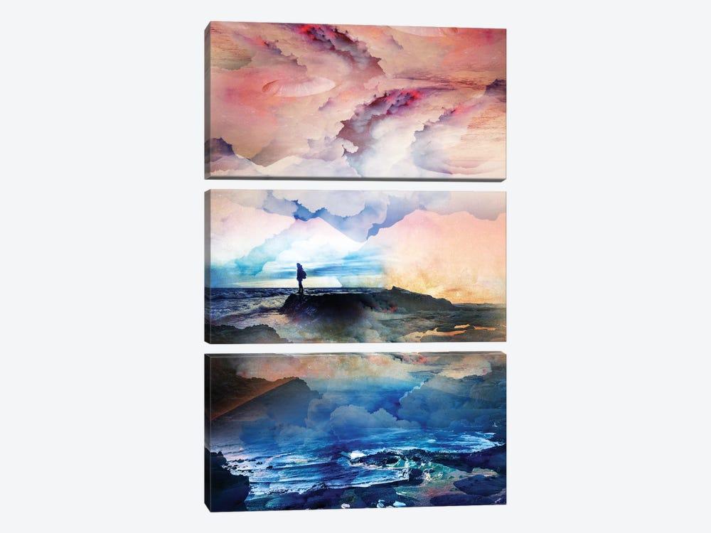 I Dream Deep On A Level by Stoian Hitrov 3-piece Canvas Artwork