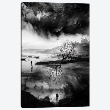 The Fisherman's Son Who Wanted To Be A Mountaineer Canvas Print #STO68} by Stoian Hitrov Canvas Wall Art