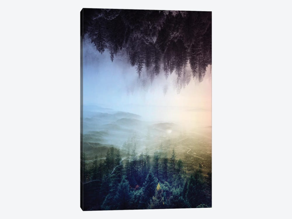 Flipped Forest by Stoian Hitrov 1-piece Art Print