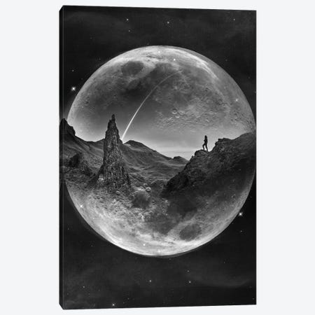 Moon Glow Canvas Print #STO81} by Stoian Hitrov Canvas Art