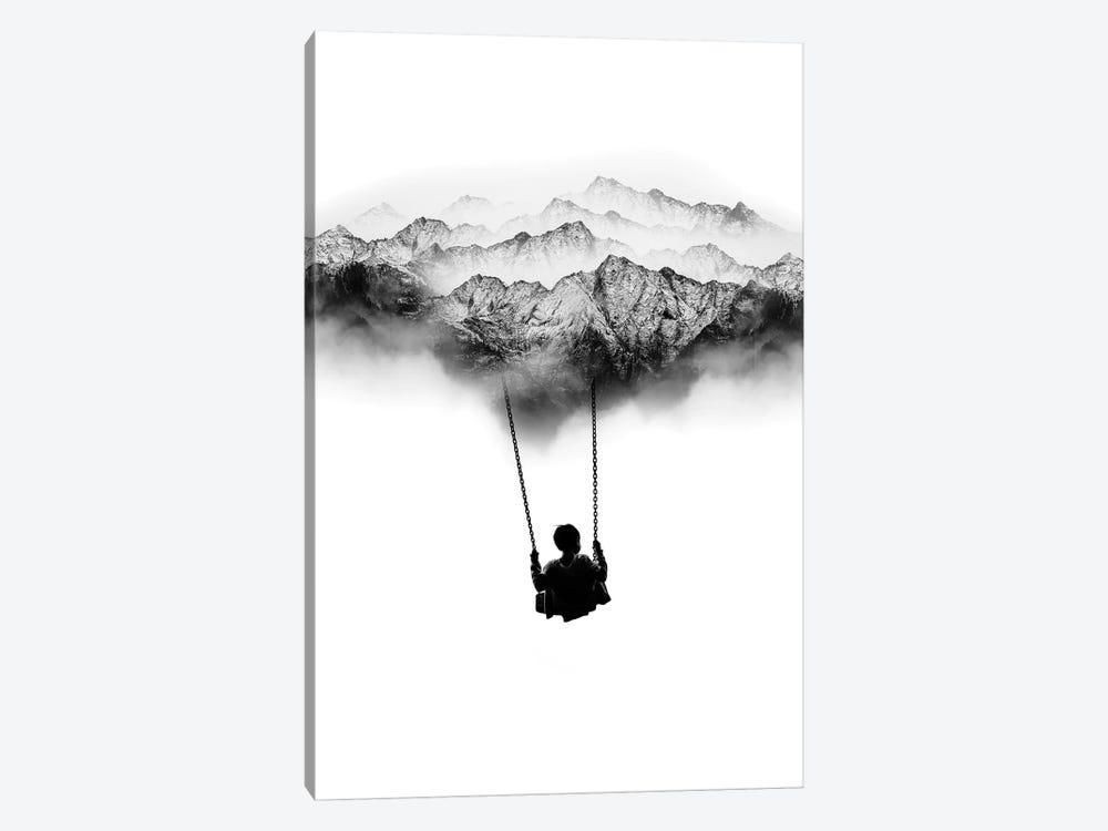 Mountain Swing by Stoian Hitrov 1-piece Canvas Wall Art
