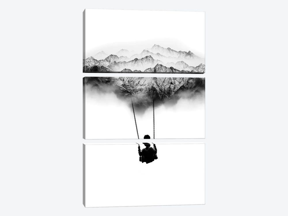 Mountain Swing by Stoian Hitrov 3-piece Canvas Art
