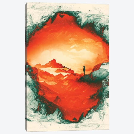 Occupy Mars Canvas Print #STO83} by Stoian Hitrov Canvas Wall Art
