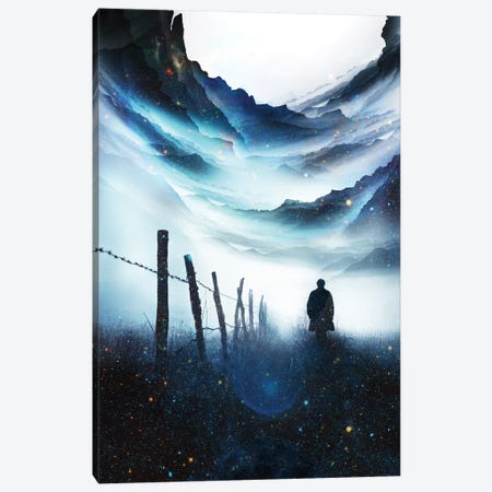 The Abyss Canvas Print #STO85} by Stoian Hitrov Canvas Print