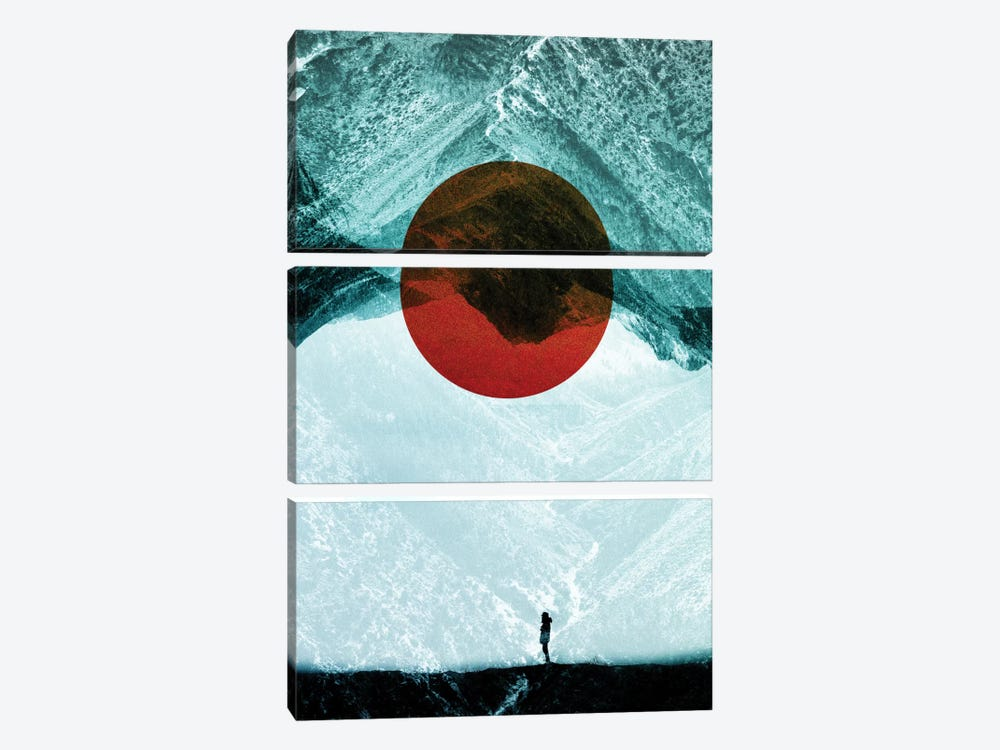 Found In Isolation by Stoian Hitrov 3-piece Canvas Wall Art