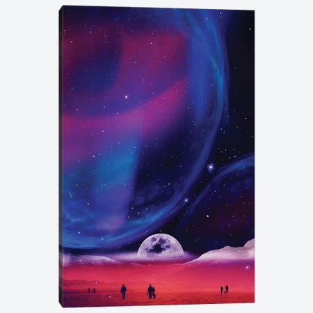 Lunar Walk Canvas Print #STO90} by Stoian Hitrov Art Print
