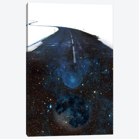 Galaxy Road Canvas Print #STO9} by Stoian Hitrov Canvas Print