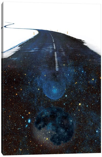 Galaxy Road Canvas Art Print
