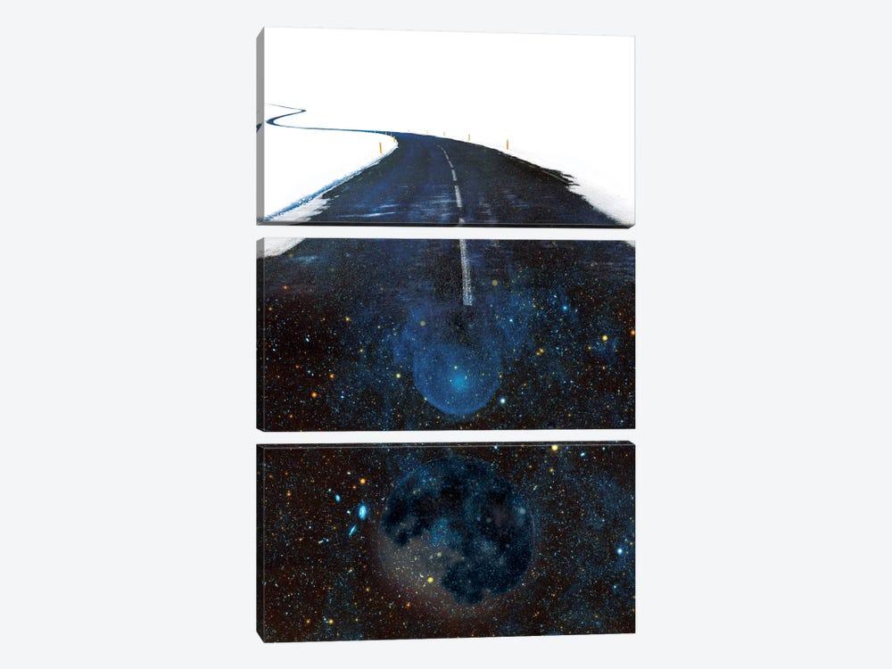Galaxy Road by Stoian Hitrov 3-piece Art Print