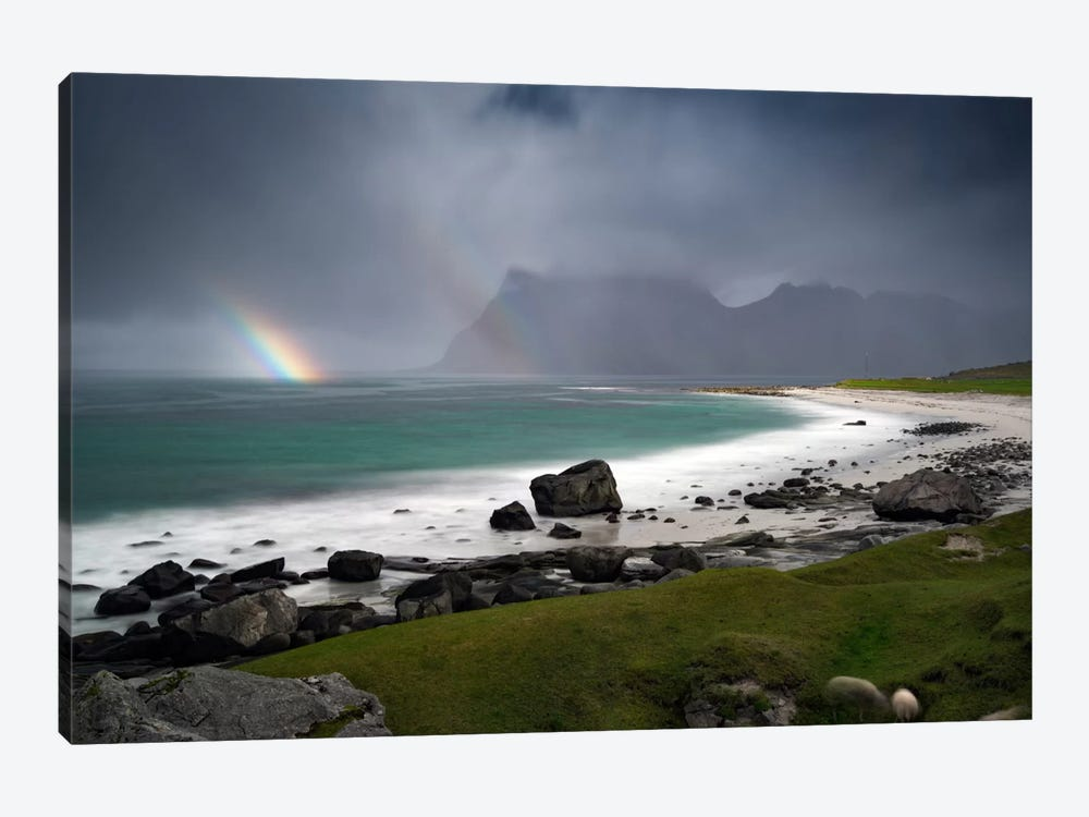 Lofoten, Norway I by Andreas Stridsberg 1-piece Canvas Wall Art