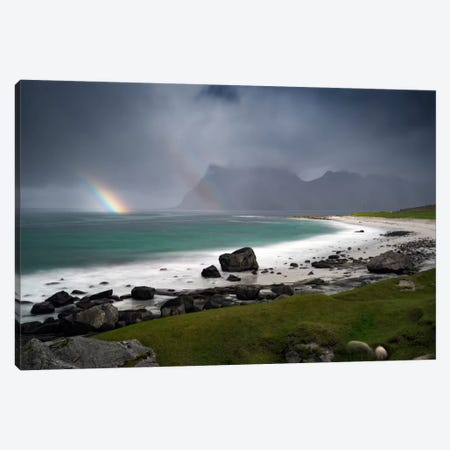Lofoten, Norway I Canvas Print #STR102} by Andreas Stridsberg Canvas Print