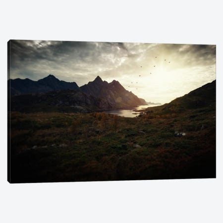 Lofoten, Norway III Canvas Print #STR104} by Andreas Stridsberg Canvas Art