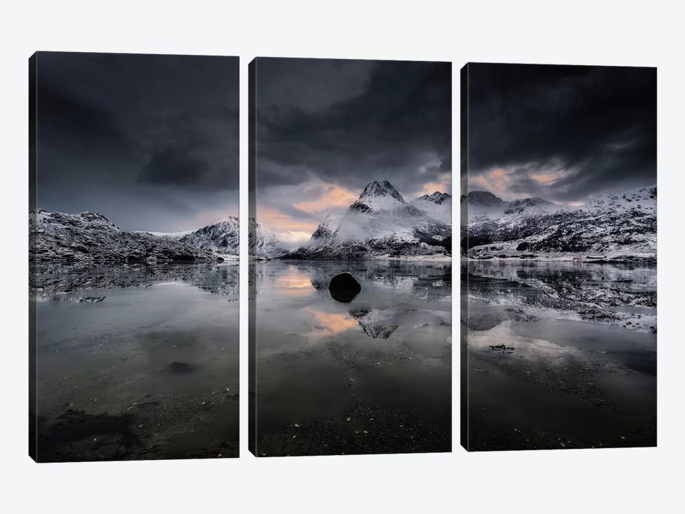 Lofoten, Norway V by Andreas Stridsberg 3-piece Canvas Art