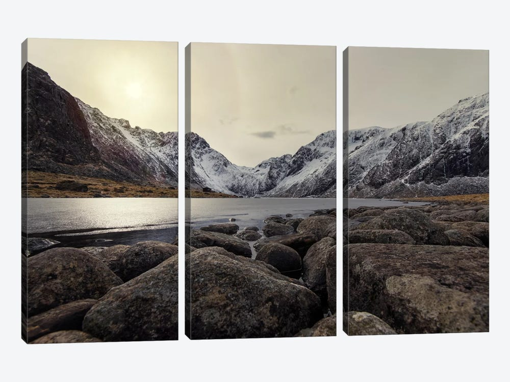 Lofoten, Norway VII by Andreas Stridsberg 3-piece Canvas Art