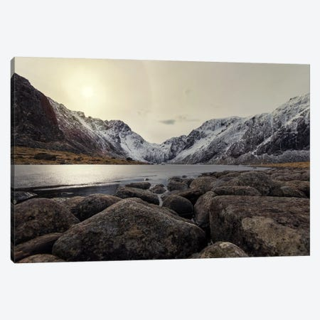 Lofoten, Norway VII 3-Piece Canvas #STR108} by Andreas Stridsberg Canvas Art Print