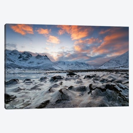 Cold Morning Canvas Print #STR10} by Andreas Stridsberg Canvas Art