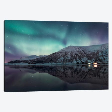 Lofoten, Norway X Canvas Print #STR111} by Andreas Stridsberg Canvas Art