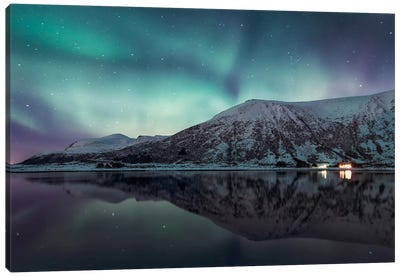 Lofoten, Norway X Canvas Art Print