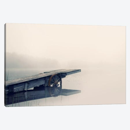 Misty Morning Canvas Print #STR115} by Andreas Stridsberg Art Print