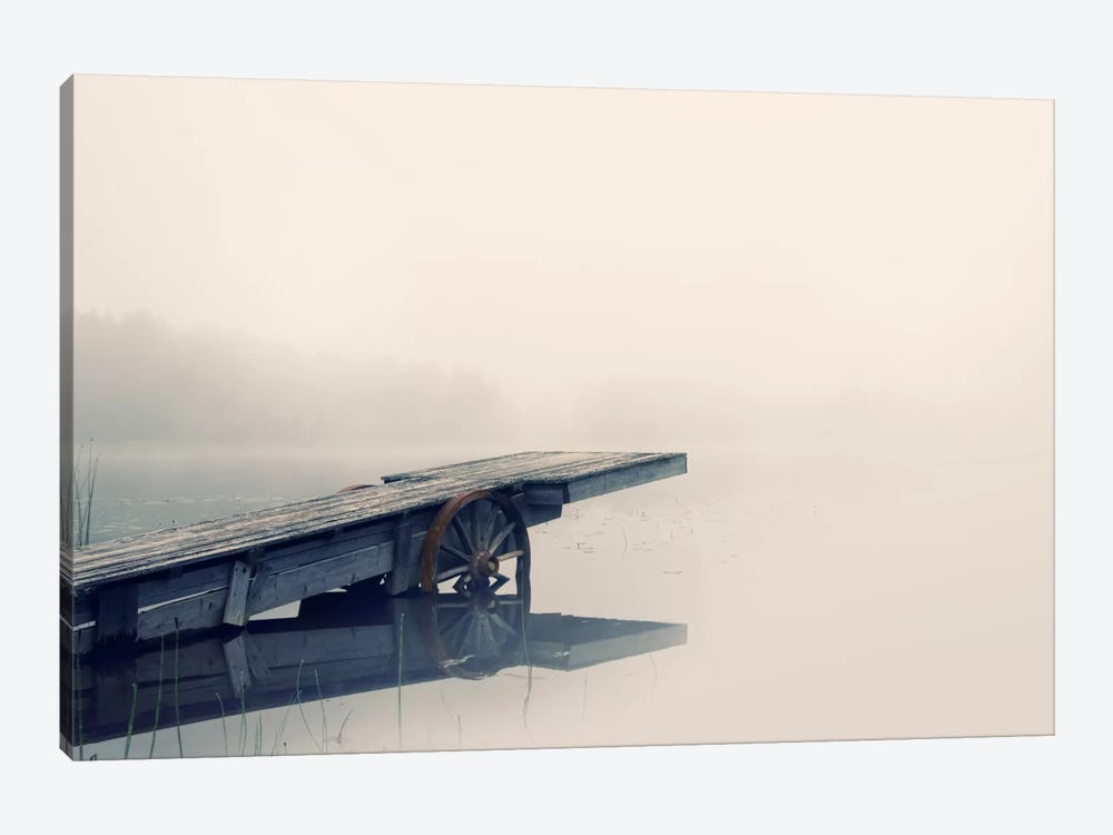 Misty Morning by Andreas Stridsberg 1-piece Canvas Artwork