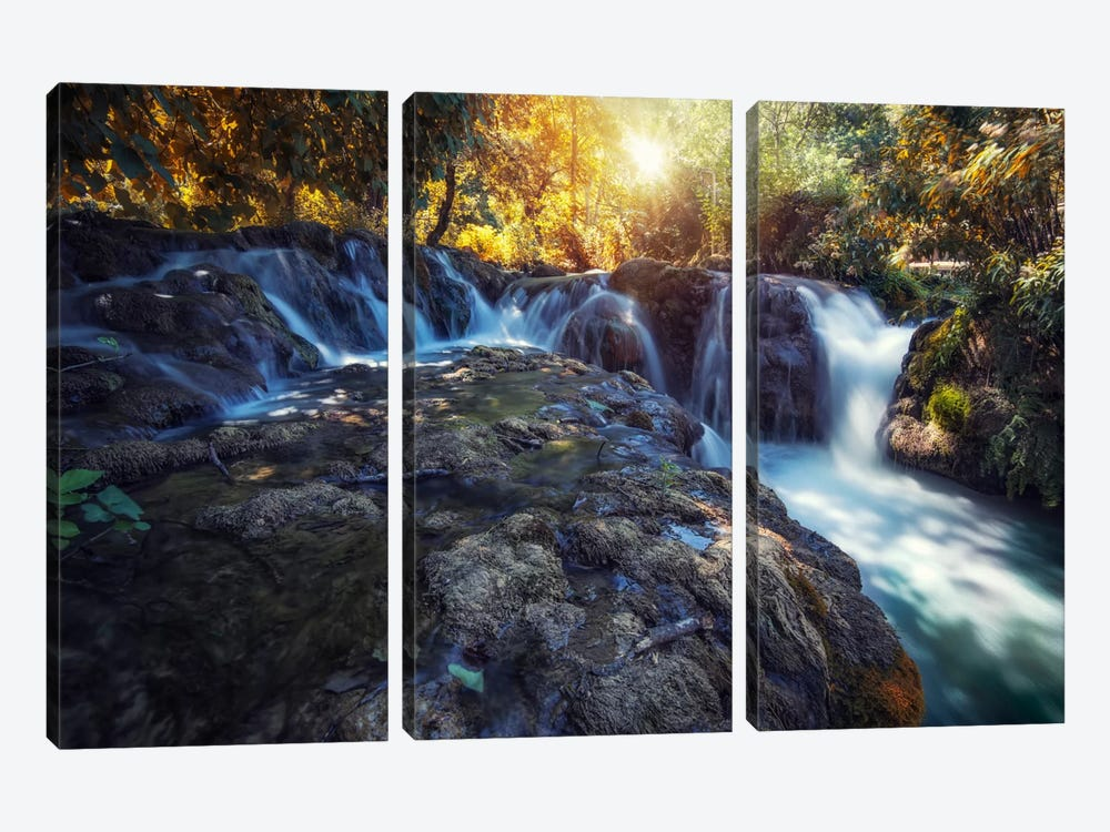Vodice, Croatia by Andreas Stridsberg 3-piece Canvas Art