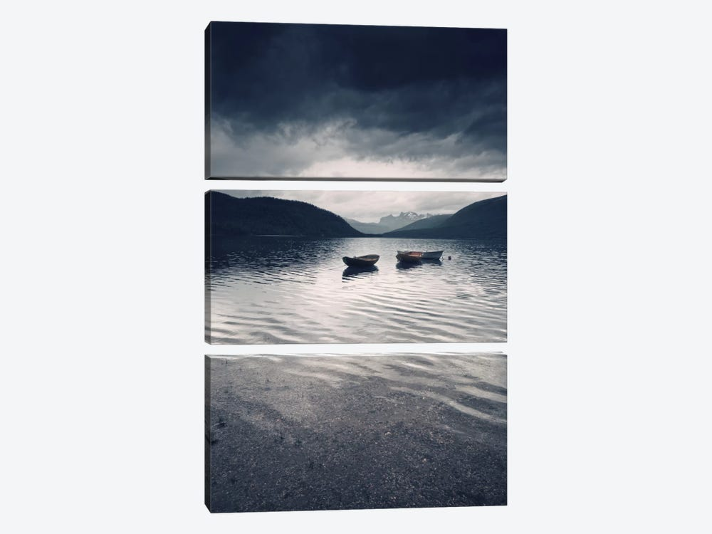 Dark Skies Above by Andreas Stridsberg 3-piece Canvas Artwork