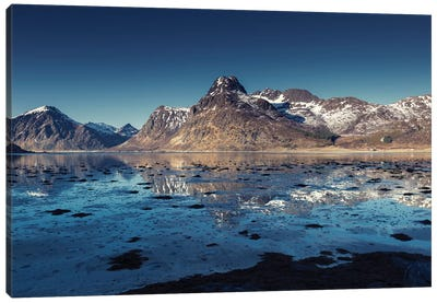 Lofoten Blues Canvas Art Print