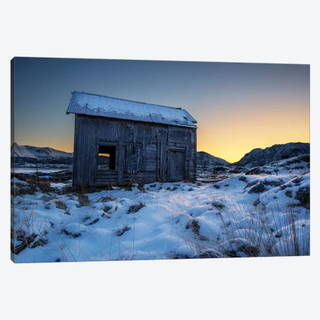 Lofoten Cabin Canvas Print #STR126} by Andreas Stridsberg Canvas Art
