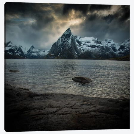Lofoten Clouds Canvas Print #STR127} by Andreas Stridsberg Canvas Artwork