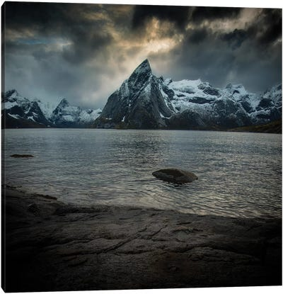 Lofoten Clouds Canvas Art Print
