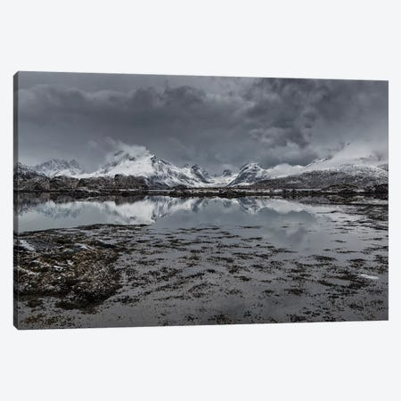 Lofoten Gray I Canvas Print #STR128} by Andreas Stridsberg Art Print