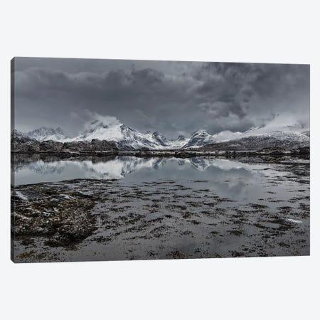 Lofoten Gray I Canvas Print #STR128} by Andreas Stridsberg Art Print