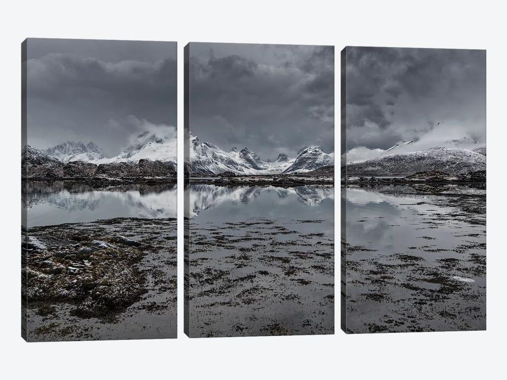 Lofoten Gray I by Andreas Stridsberg 3-piece Canvas Art