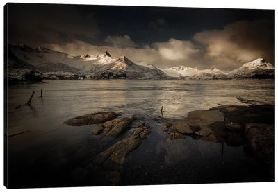 Lofoten Noir Canvas Art Print