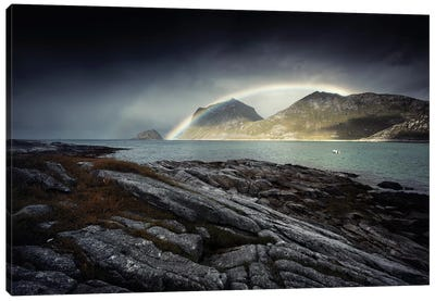 Lofoten Rainbow II Canvas Art Print