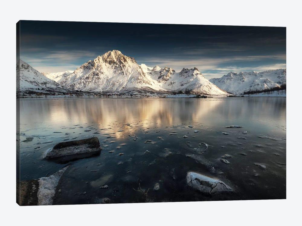 Lofoten Reflection II by Andreas Stridsberg 1-piece Canvas Art