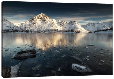 Lofoten Reflection II Canvas Art Print