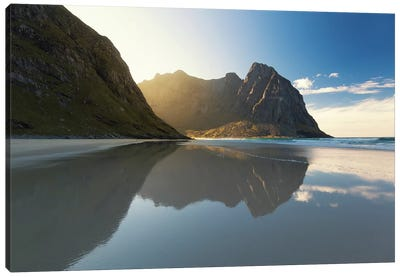 Lofoten Reflection III Canvas Art Print