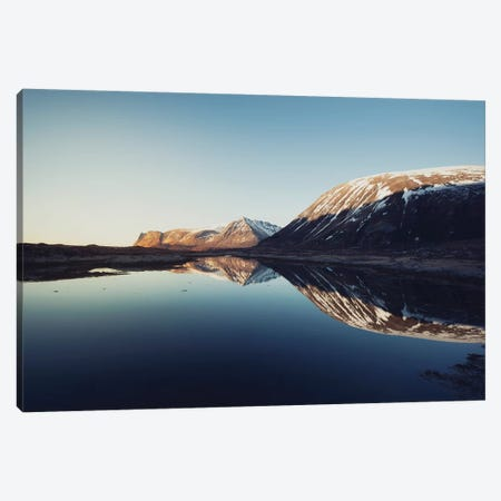 Lofoten Reflection IV Canvas Print #STR139} by Andreas Stridsberg Canvas Wall Art