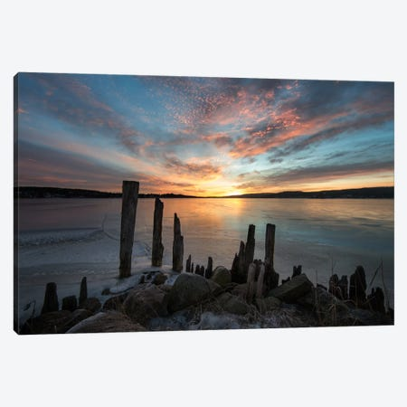 Daybreak Canvas Print #STR13} by Andreas Stridsberg Canvas Artwork
