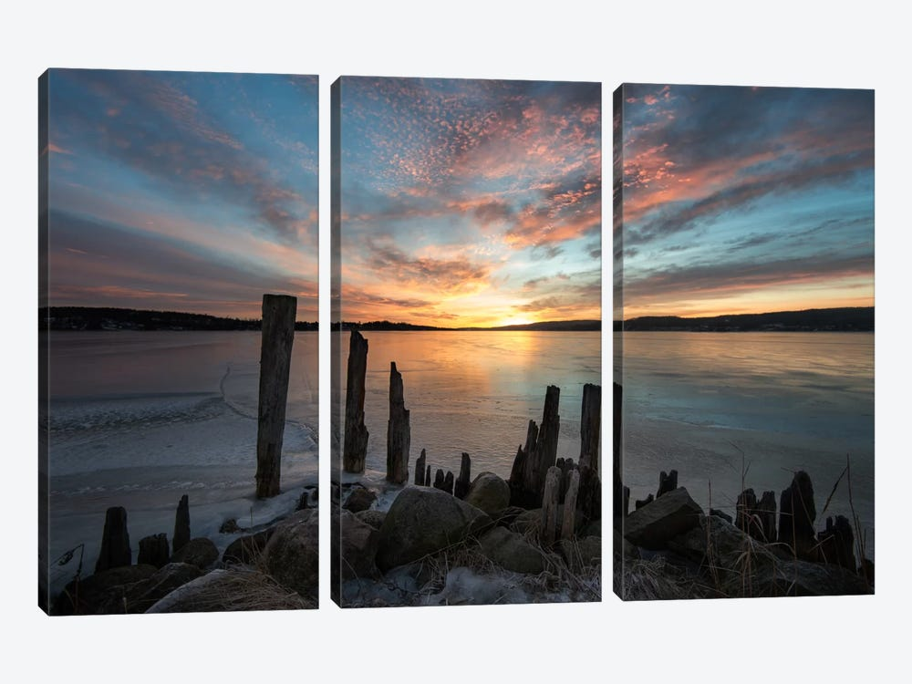 Daybreak by Andreas Stridsberg 3-piece Canvas Artwork