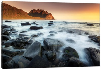 Lofoten Smog Canvas Art Print