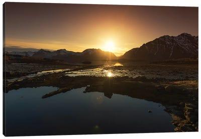 Lofoten Sunset Canvas Art Print