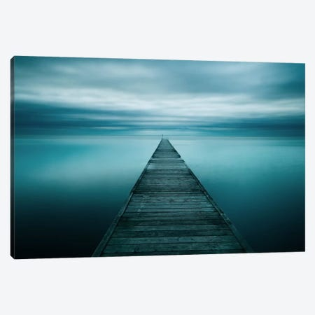 Evening Stillness Canvas Print #STR15} by Andreas Stridsberg Art Print